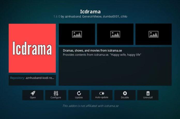 Korean Kodi Addons - IC Drama