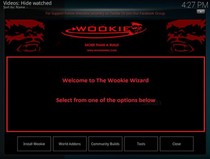 Wookie Kodi Build - 4