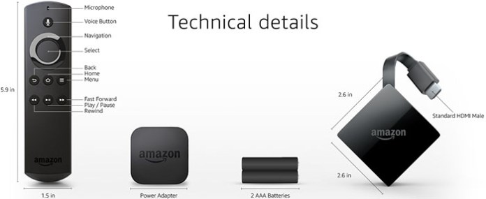 Amazon Fire Stick -Fire TV 2017 2