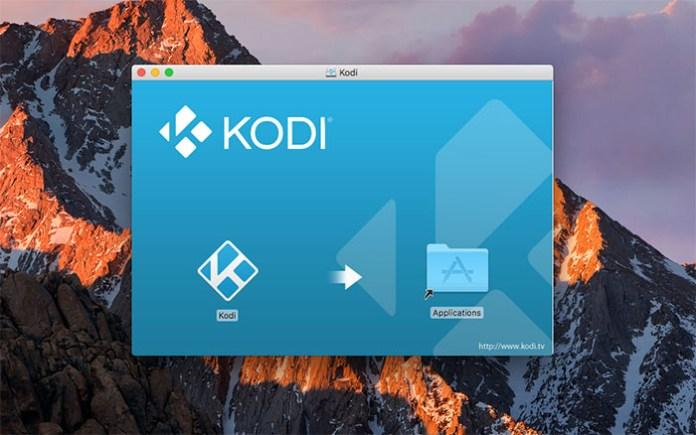 Install Kodi for Mac - Install 5