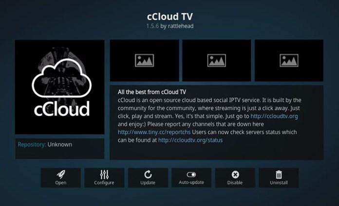 Kodi Addons for Documentaries - cCloud TV
