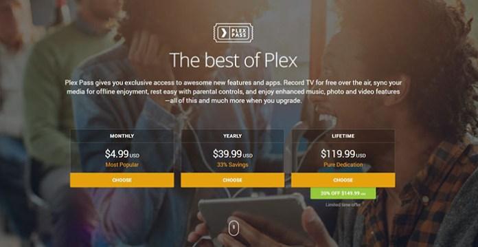 Plex Kodi Addon - Plex Pass
