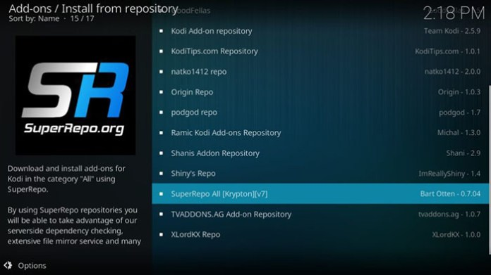 Ultimate Kodi Guide - 10 Repository