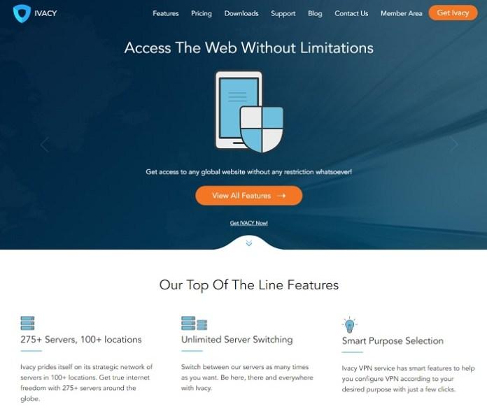 Ivacy VPN Review Website