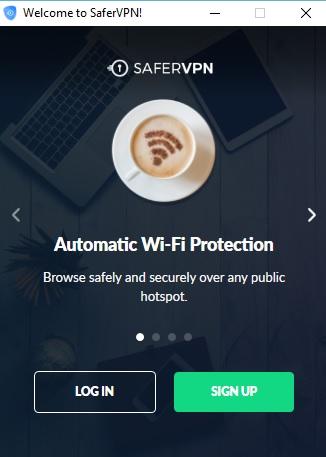 SaferVPN Review Client Login