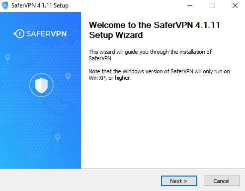 SaferVPN Review Installer