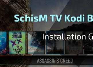 Schism TV Kodi Build