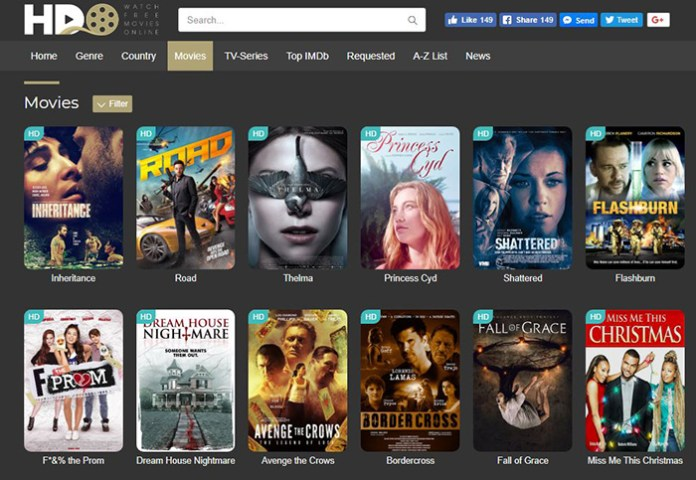 HD Online (hdonline.is) - Free Movie Streaming Sites
