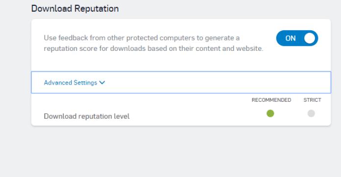 Sophos Download Reputation