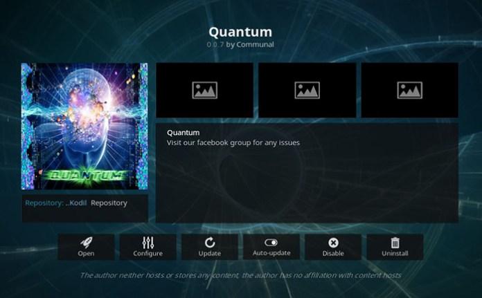 Quantum Addon for Kodi
