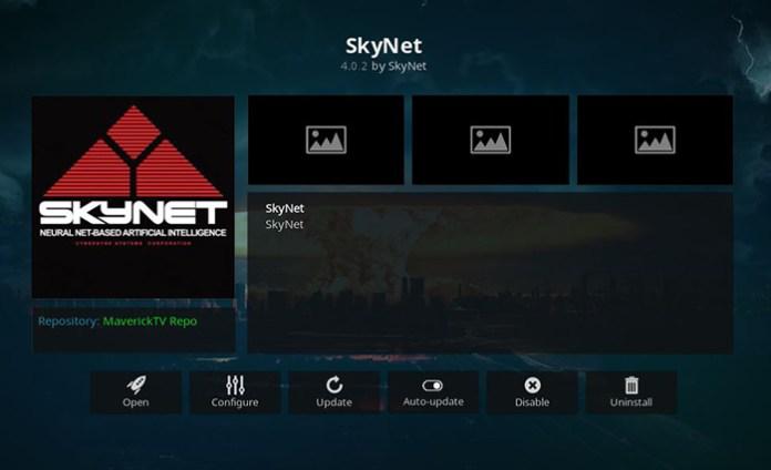 SkyNet Movie Kodi Addon