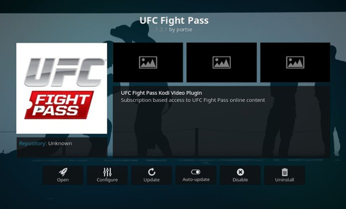 UFC Fight Pass Addon
