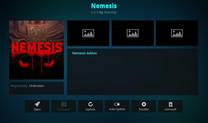 Nemesis Kodi Addon
