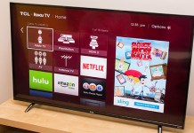 You Can Get TCL's 55-inch Roku P-Series TV for $499.99 at Best Buy Today!