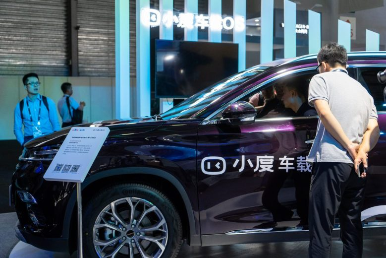 Baidu was present at CES Asia 2019, where it showcased the latest developments of the Baidu Apollo system in Shanghai, China on June 11, 2019. (Image credit: TechNode/Shi Jiayi)
