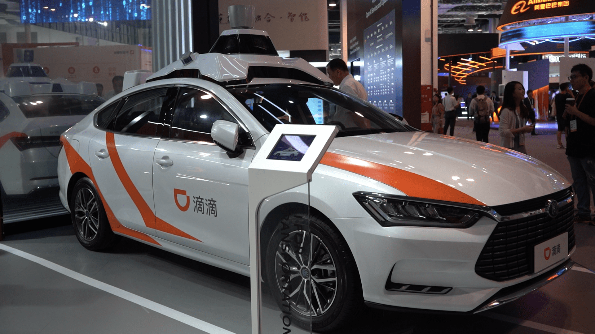 Self-driving pickup service to be launched in Shanghai by DiDi