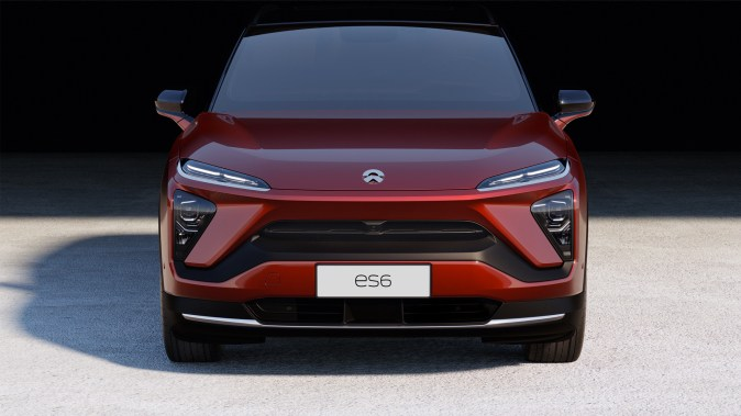 China-based NIO's ES6 electric SUV.