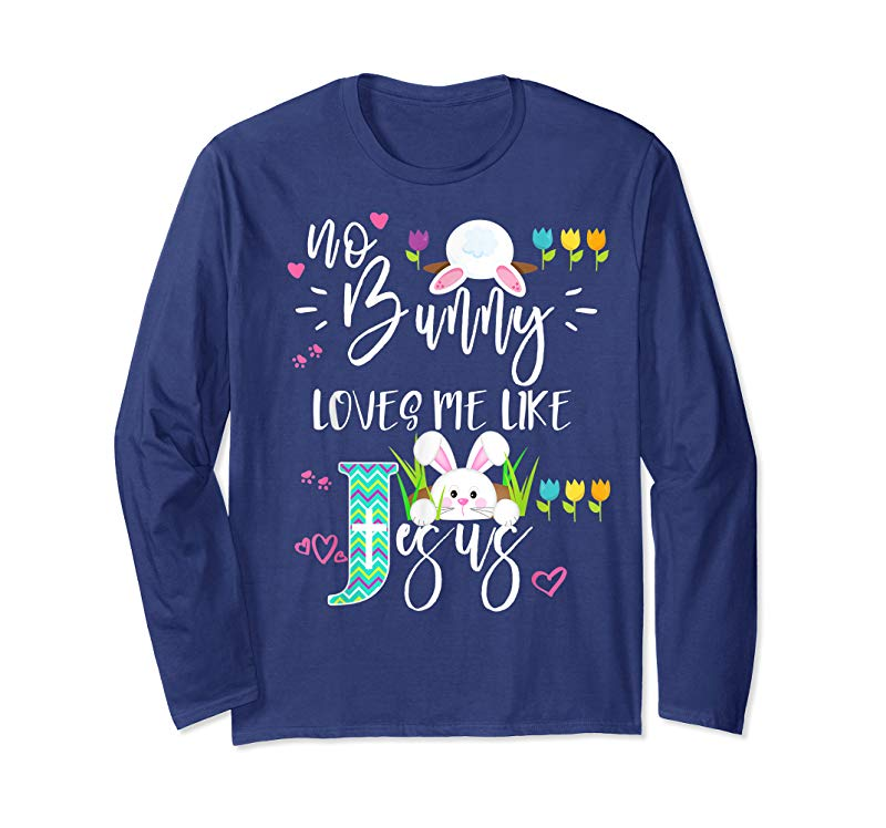 Download Cool No Bunny Loves Me Like Jesus Christian Easter Shirt ...