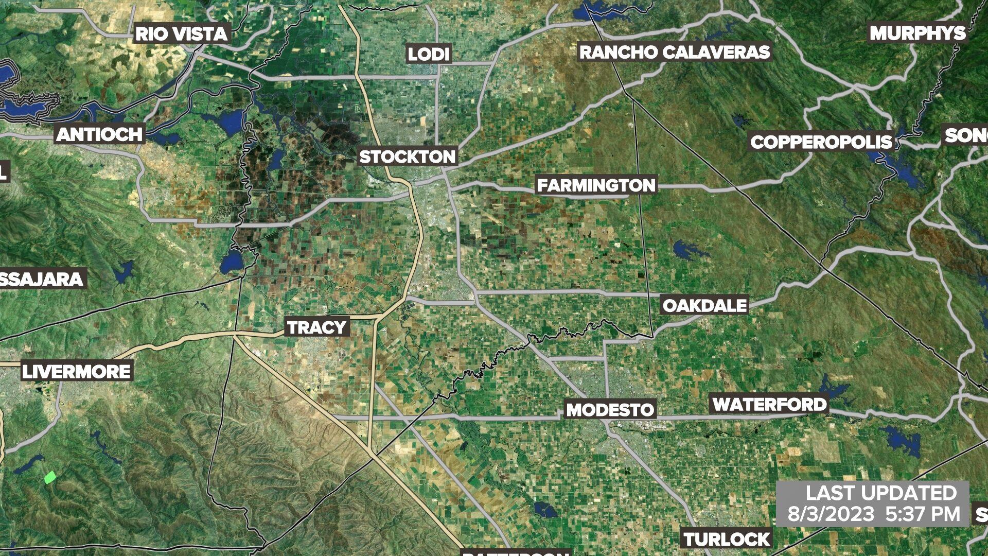 Sacramento Stockton and Modesto Weather