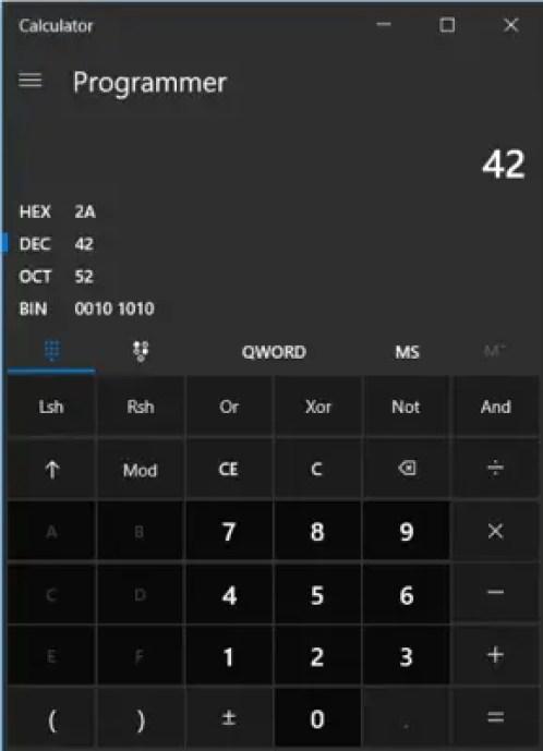 Resultado de imagen para microsoft codigo calculadora