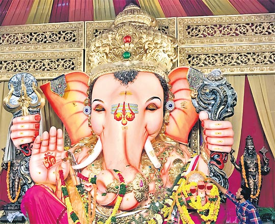 Hyderabad's Balapur Ganesh laddu, most sought-after offering