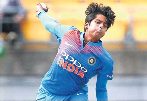 Image result for women cricketer arundhati reddy selected t20 world cup