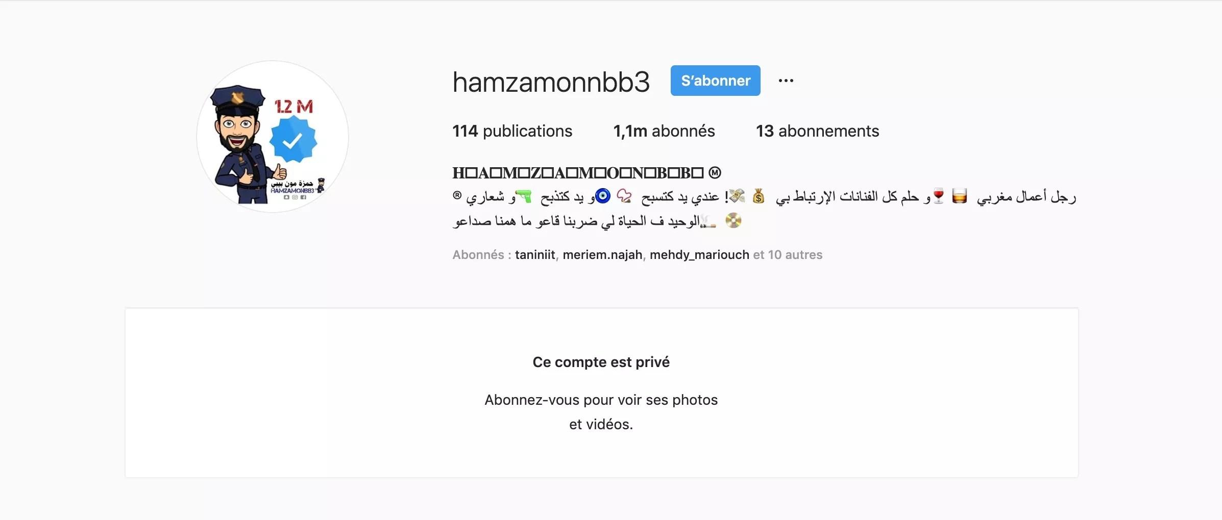 """Résultat de recherche d'images pour """"snap hamza mon bb"""""""
