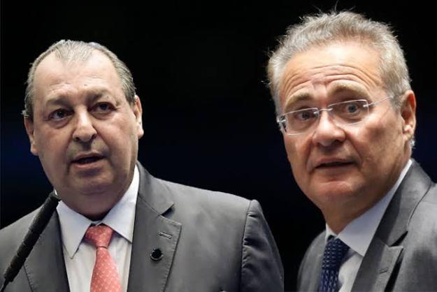 """Renan Calheiros e Aziz mais uma vez tentam forçar ministro a falar o que eles querem: """"Não adianta jogar para terceiros"""""""