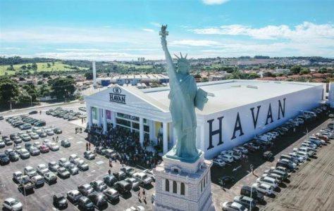 Movimento vai à Justiça contra estátua da Havan no Maranhão