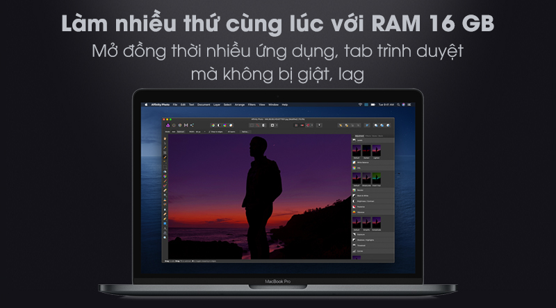 MacBook Pro Touch 2020 i5 (MWP72SA/A)   RAM 16 GB