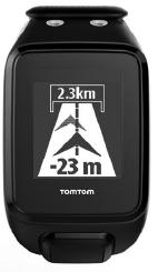 TomTom Runner 2 Spark - Behind Target