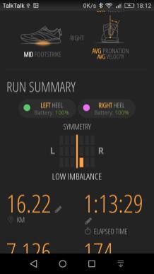 RunScribe Plus Review app