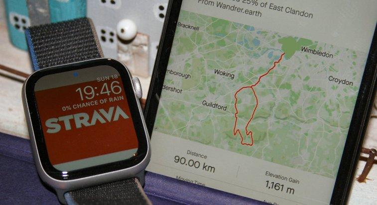 STRAVA app Apple Watch Series 6 5 4 3 2