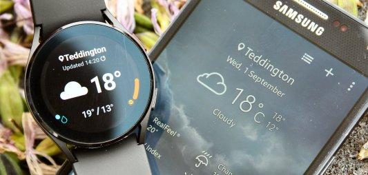 Samsung Galaxy Watch 4 weather watch4 review