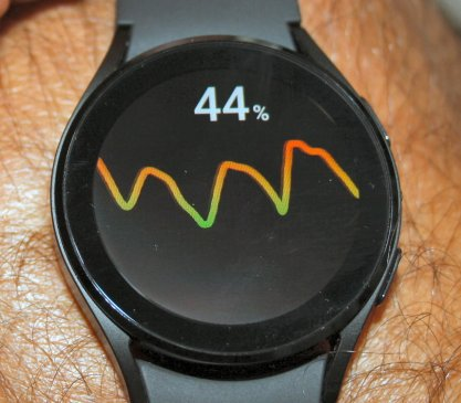 Samsung Galaxy Watch 4 measure hr and ECG watch4 review
