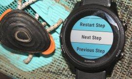 Control & change Skip/Repeat steps