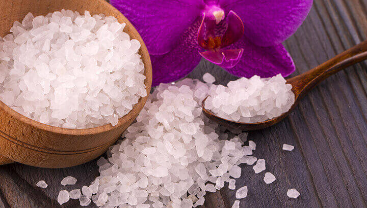 A detox bath with Epsom salts can draw toxins out of the body.