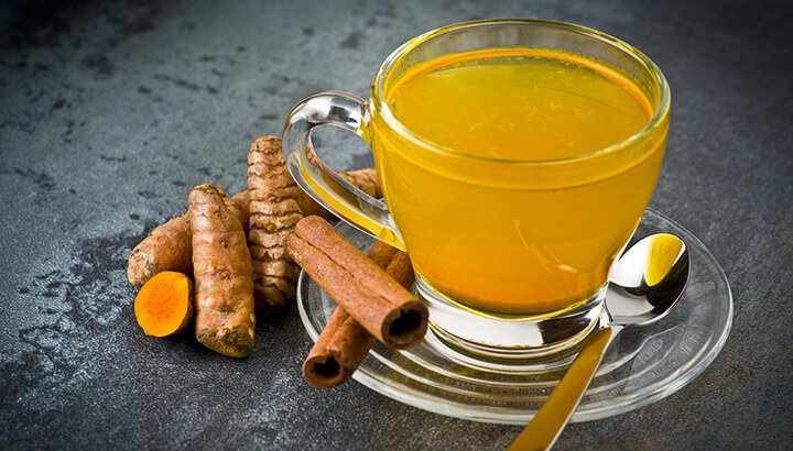 The curcumin in turmeric fights chronic inflammation.
