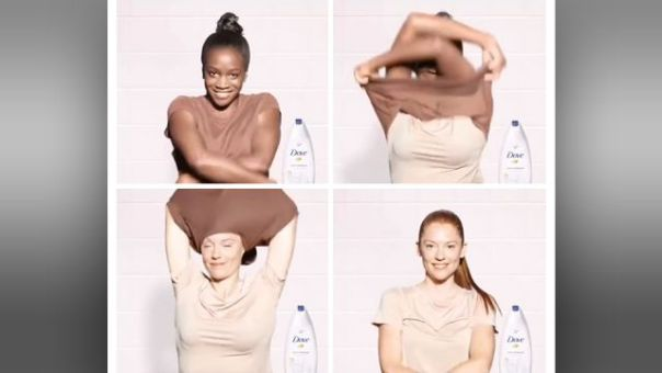 Image result for dove october racism