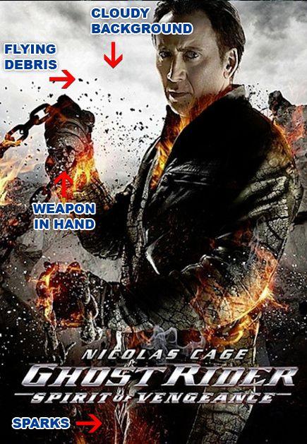 movie poster ghost rider 37193