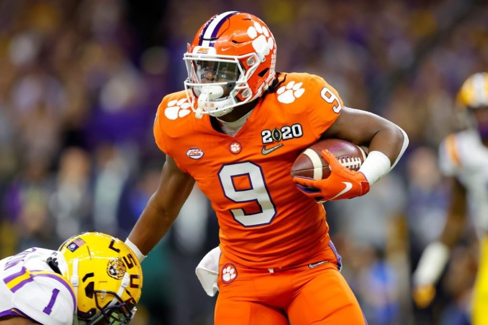 Not done yet: Clemson RB Travis Etienne has big plans for senior ...
