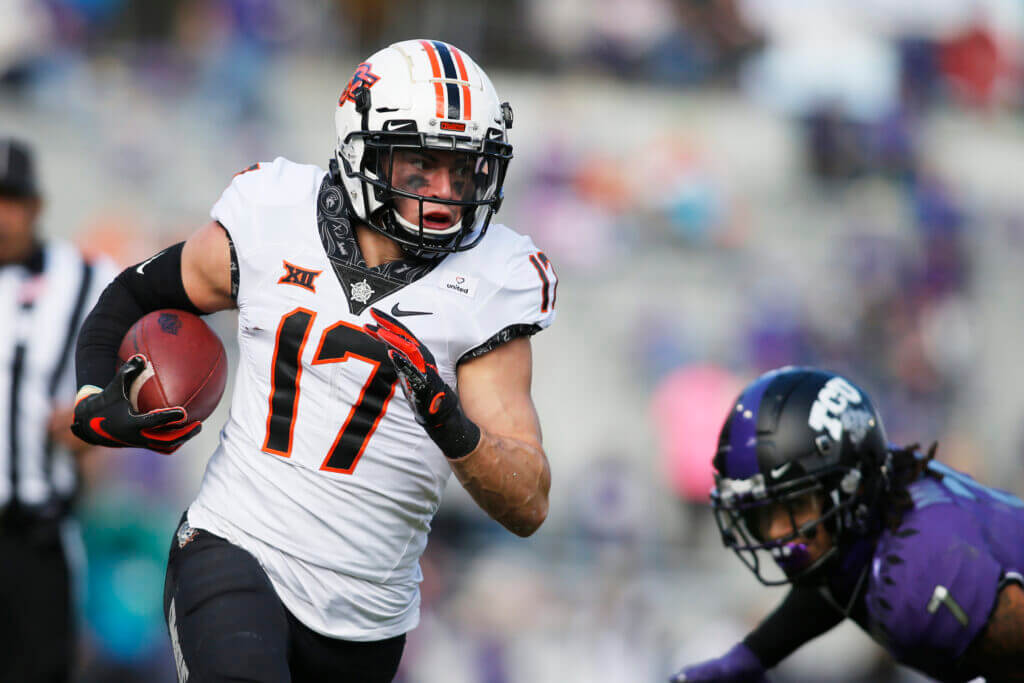Raiders expect UDFA Dillon Stoner to carve out a role in crowded wide  receiver corps – The Athletic