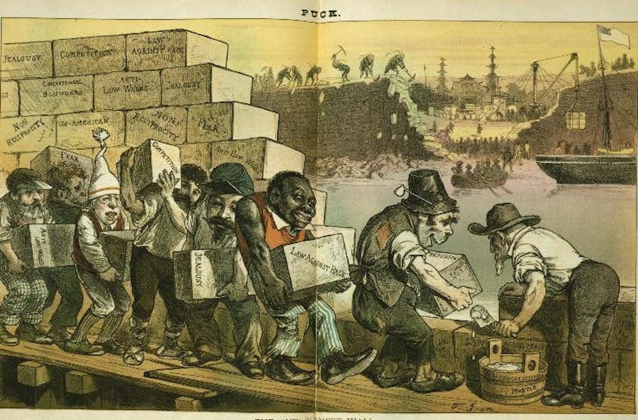 Anti Immigrant Cartoons The Atlantic