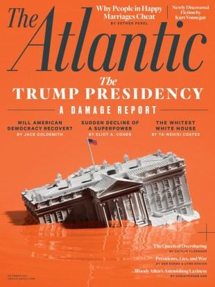 CRAZY COOL GROOVY!!!: The TRUMP PRESIDENCY On The ATLANTIC MAG!!!