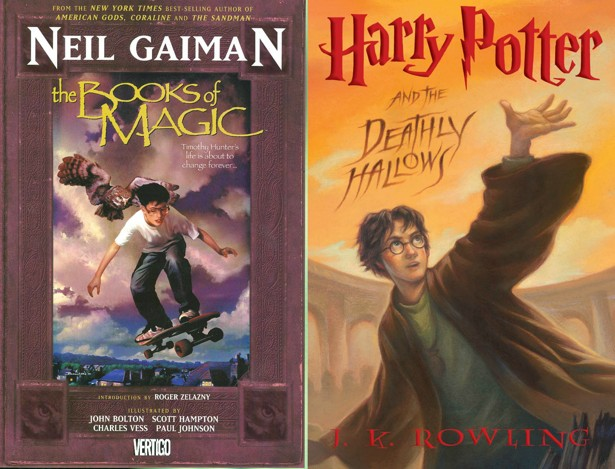 Neil Gaimans The Books Of Magic And Harry Potters