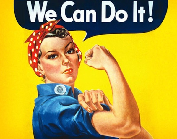 Image result for we can do it women