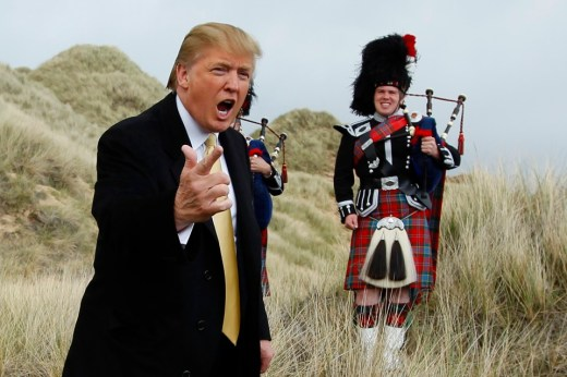 Image result for scottish donald trump