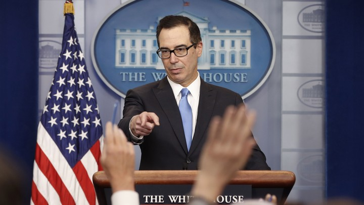 Steve Mnuchin on Trump Tax Proposal   The Atlantic Treasury Secretary Steven Mnuchin