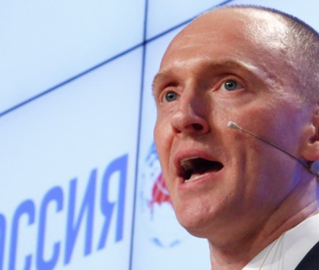 Carter Page In Moscow In December Sergei Karpukhin Reuters