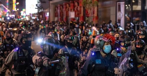 Hong Kong's Colliding Crises